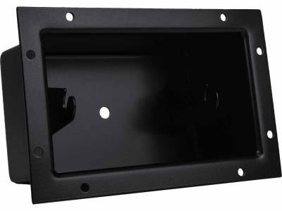 """Mounting Options - Bucket Mounts - Rigid Industries - Rigid Industries 4"""" E-Series Flush Mount Bucket- Black"""