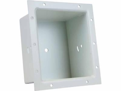Mounting Options - Bucket Mounts - Rigid Industries - Rigid Industries Q-Series Flush Mount Bucket- White