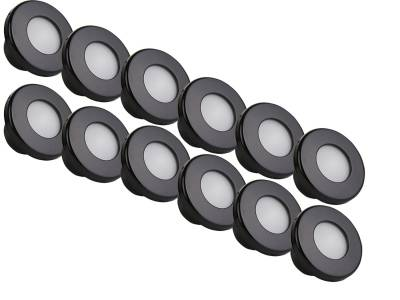 Rigid Lighting - Accessories - Rigid Industries - Rigid Industries Courtesy 12-Pack: Cool White & Blue, Black Trim Ring