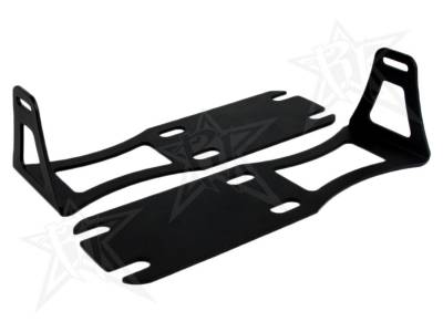 "Vehicle Specific - Dodge Ram 2500/3500 - Rigid Industries - Rigid Industries Dodge Ram 1500-3500 - '04-'13 - 20"" SR-Series - Lower Bumper Bracket"
