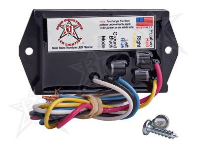 Rigid Lighting - Accessories - Rigid Industries - Rigid Industries 3 Amp LED Flasher - 2 Output - 12 Volt