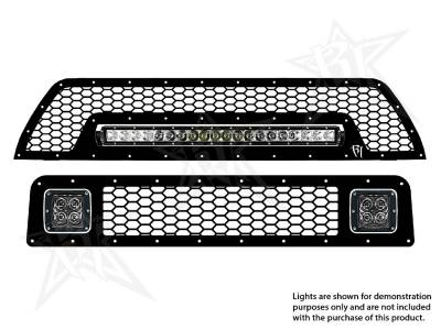 "Vehicle Specific - Toyota 4Runner - Rigid Industries - Rigid Industries Toyota 4-Runner - 2010-2013 Grille Kit - 2X Dually/D2, 20"" SR-Series"