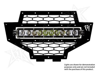 "Vehicle Specific - Polaris RZR - Rigid Industries - Rigid Industries Polaris RZR - 2012 Grille Kit - 10"" SR-Series"