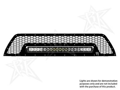 "Vehicle Specific - Toyota 4Runner - Rigid Industries - Rigid Industries Toyota 4-Runner - 2010-2013 Upper Grille Kit ONLY- 20"" SR-Series"
