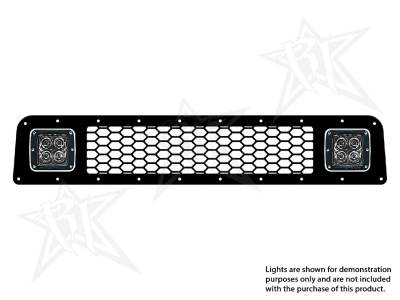 Vehicle Specific - Toyota 4Runner - Rigid Industries - Rigid Industries Toyota 4-Runner - 2010-2013 Lower Grille Kit ONLY- 2X Dually/D2
