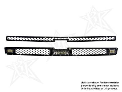 "Vehicle Specific - Chevrolet Silverado 1500 - Rigid Industries - Rigid Industries Chevy 1500 - 2011-2013 Grille Kit - 2XSRM, 6"" SR-Series"