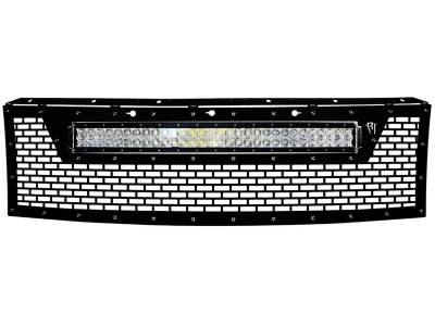 """Vehicle Specific - Ford F-150 Raptor - Rigid Industries - Rigid Industries 2010-2014 Ford Raptor Grille (no front camera) - Fits 30"""" RDS Series Light"""