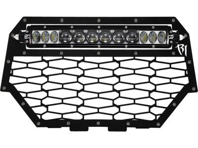 "Vehicle Specific - Polaris RZR - Rigid Industries - Rigid Industries Polaris RZR XP1000 - 2014 Grille Kit - Fits 10"" SR-Series"