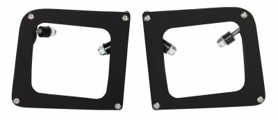 Vehicle Specific - GMC Sierra 1500 - Rigid Industries - Rigid Industries GMC 1500 2014 Fog Light Mount Kit - Pair Dually/D2