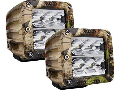 D-Series Lights - D2 - Rigid Industries - Rigid Industries D2 - Wide - Set of 2