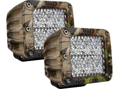 D-Series Lights - D2 - Rigid Industries - Rigid Industries D2 - 60 Deg. Lens Pair