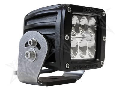D-Series Lights - D2 HD - Rigid Industries - Rigid Industries D2 HD Black- Driving - Single