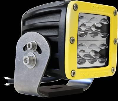 D-Series Lights - D2 HD - Rigid Industries - Rigid Industries D2 HD Yellow- Wide - Single