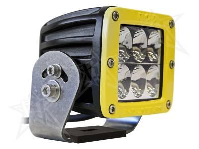 D-Series Lights - D2 HD - Rigid Industries - Rigid Industries D2 HD Yellow- Driving - Single
