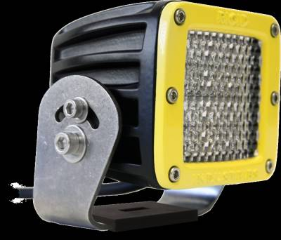 D-Series Lights - D2 HD - Rigid Industries - Rigid Industries D2 HD Yellow- 60 Deg. Lens - Single