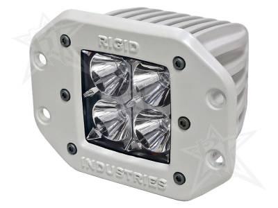 D-Series Lights - Dually - Rigid Industries - Rigid Industries Marine - Flush Mount - Dually - Flood - Single