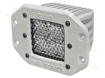 D-Series Lights - Dually - Rigid Industries - Rigid Industries Marine - Flush Mount - Dually - 60 Deg. Lens - Single