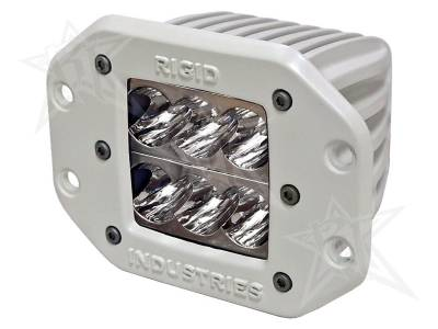 D-Series Lights - D2 - Rigid Industries - Rigid Industries Marine - Flush Mount - D2 - Wide - Single