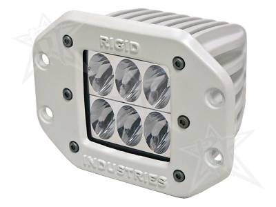 D-Series Lights - D2 - Rigid Industries - Rigid Industries Marine - Flush Mount - D2 - Driving - Single