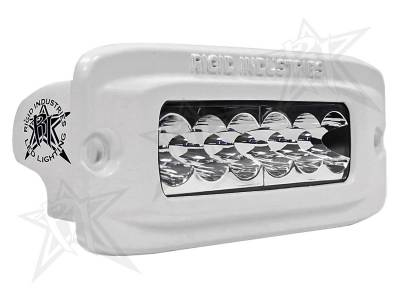 SR-Q Series Lights - SR-Q2 - Rigid Industries - Rigid Industries M-Series -SRQ2 -Wide -White -Flush Mount - Single