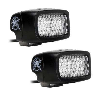 SR-M Series Lights - SR-M - Rigid Industries - Rigid Industries SRM - Diffused - Back Up Light Kit