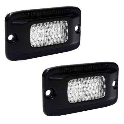 SR-M Series Lights - SR-M - Rigid Industries - Rigid Industries SRM - Flush Mount - Diffused - Back Up Light Kit