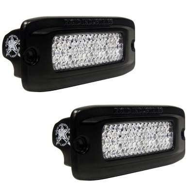SR-Q Series Lights - SR-Q - Rigid Industries - Rigid Industries SRQ - Flush Mount - Diffused - Back Up Light Kit