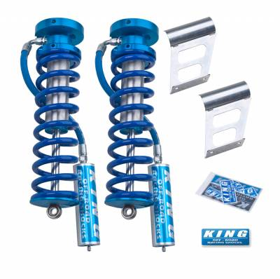 Ford 4WD - F-250/350 Super Duty 05-16 - King Shocks - King Shocks Front 2.5 Remote Reservoir Coilover Conversion