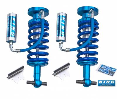 Chevrolet 4WD - Silverado 1500 07-16 - King Shocks - King Shocks Front 2.5 Remote Reservoir Coilover