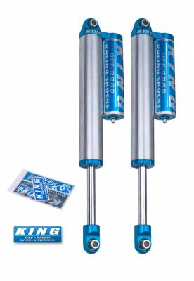 Chevrolet 2WD - Silverado 2500/3500 HD 00-10 - King Shocks - King Shocks Rear 2.5 Piggyback Reservoir Shock