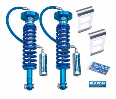King Shocks - F150 09-13 2WD/4WD Front 2.5 DIA Remote Reservoir Coilover