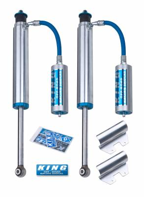 Toyota 2WD - Land Cruiser 100 98-02 - King Shocks - King Shocks Rear 2.5 Remote Reservoir Shock (international)