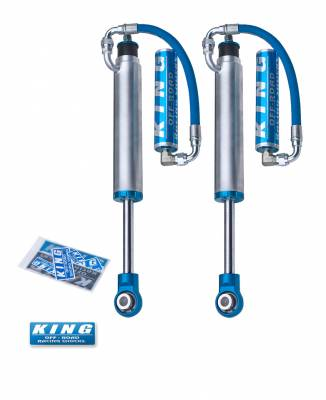 Toyota 2WD - Land Cruiser 120 03-09 - King Shocks - King Shocks Rear 2.5 Remote Reservoir Shock (international)