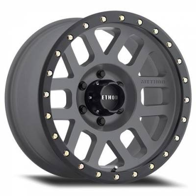 "Method Race - Method Race ""Grid"" Wheel – Titanium"