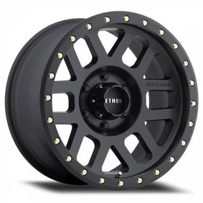 "Method Wheels - Street Wheels - Method Race - Method Race ""Grid"" Wheel – Matte Black"