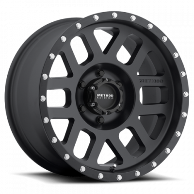 Method Wheels - Street Wheels - Method Race - Method Race Mesh Wheel Matte Black