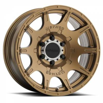"Method Wheels - Street Wheels - Method Race - Method Race ""Roost"" Wheel – Bronze"