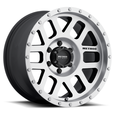 Method Wheels - Street Wheels - Method Race - Method Race Mesh Wheel Matte Black Machined Face