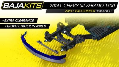 Baja Kits - 4+ Chevy Silverado Hidden Bolt on Bumper - Image 2