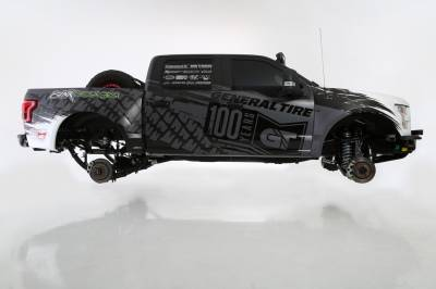 Baja Kits - 2009-2014 Ford Raptor 4WD Long Travel Cantilever Race Kit - Rear - Image 11