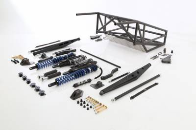 Baja Kits - 15+ Ford F150 2WD Long Travel Back Half 4-Link Race Kit - Rear - Image 2