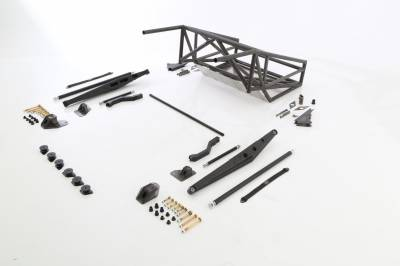 Baja Kits - 2009-2014 Ford Raptor 4WD Long Travel Back Half 4-Link Race Kit - Rear - Image 3