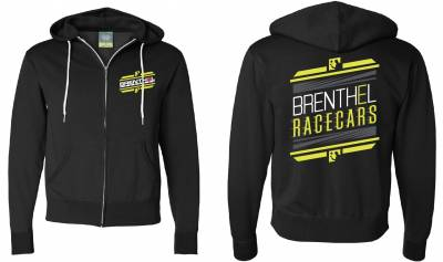 Apparel/Misc.  - Brenthel Race Cars Zip Up Hoodie (single)