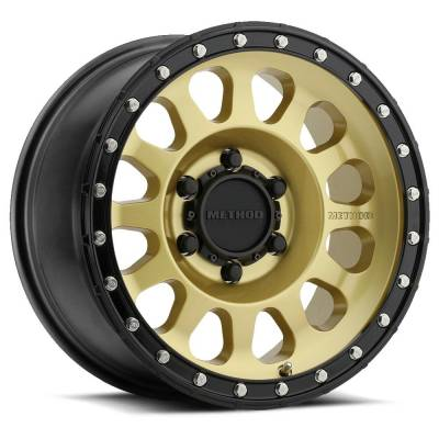 Method Race Wheels - 315 - Gold/Black